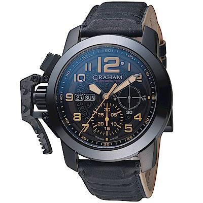 GRAHAM Chronofighter Steel錶(2CCAU.B32A.L144N)