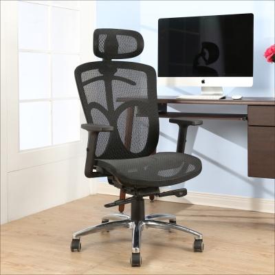 BuyJM奧斯頓專利底盤全網鋁腳PU輪電腦椅-免組
