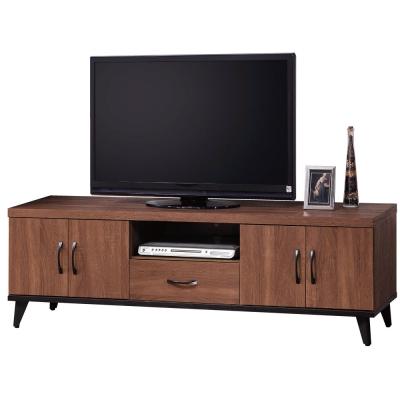 品家居 麥得森5.3尺淺胡桃長櫃/電視櫃-160.4x40.2x50.5cm-免組