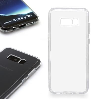 INGENI Samsung Galaxy S8 Plus 耐刮抗震雙材質透明保...