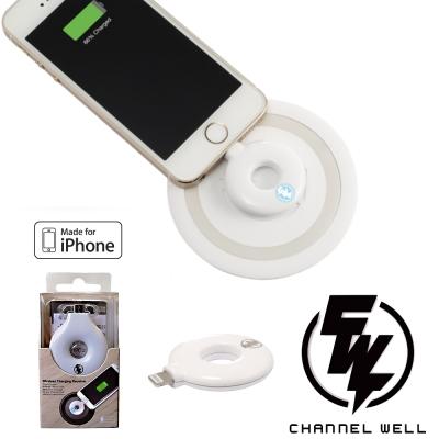 CHANNEL WELL甜甜圈Lightning無線充電接收器
