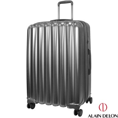 ALAIN DELON 亞蘭德倫 28吋絕色流線系列行李箱(灰)