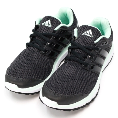 24H-ADIDAS-女慢跑鞋AQ4191-黑