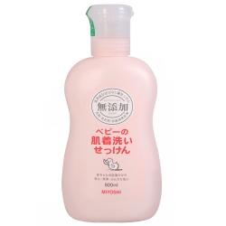MIYOSHI 無添加嬰幼兒用洗衣精(800ml)