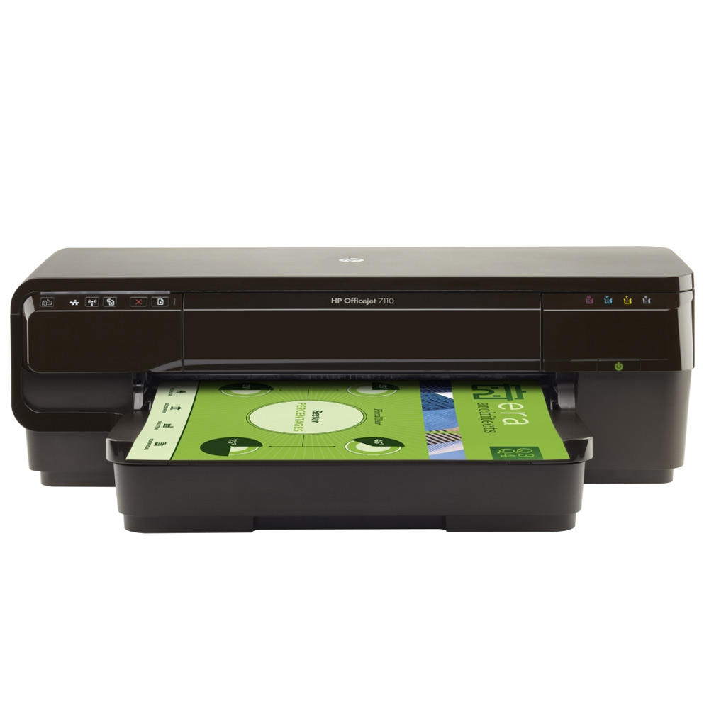 HP Officejet 7110 彩色無線 WiFi 噴墨印表機