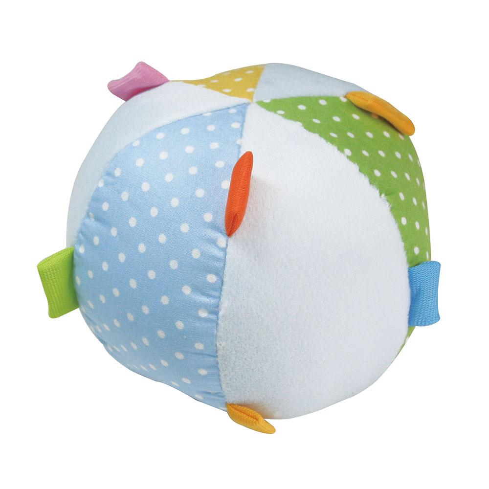 任選-優生布質寶寶學習球(藍/粉)