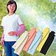 【Sunlead】日本製。防潑水抗UV吸濕速乾防曬袖套 (亮黃色) product thumbnail 1