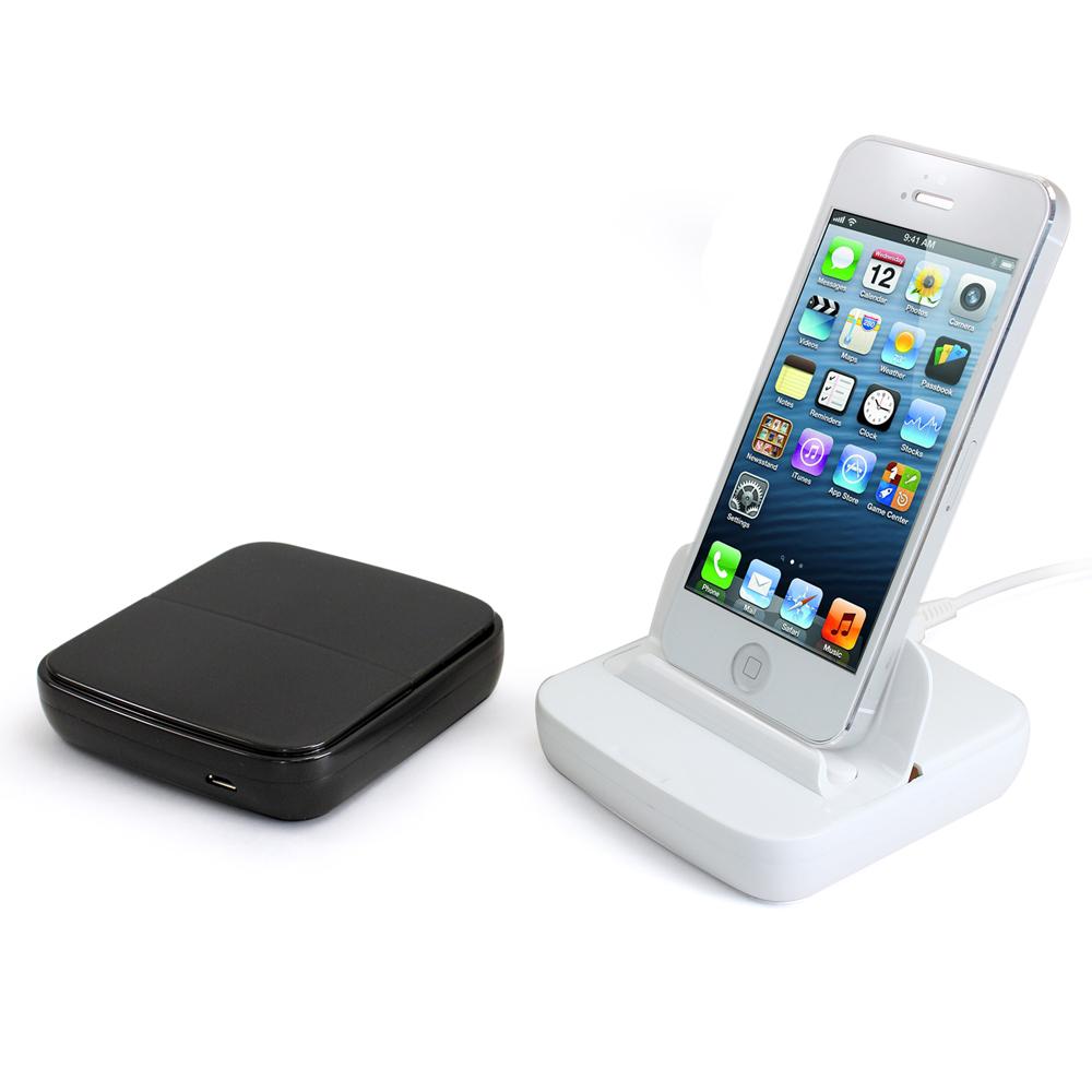 iStyle iPhone5/5S 方塊充電傳輸基座組