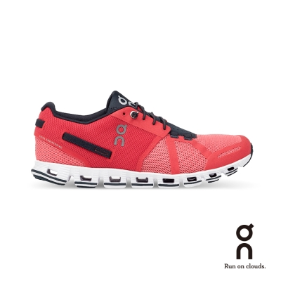 ON 瑞士雲端科技跑鞋-輕量雲 女款 珊瑚紅