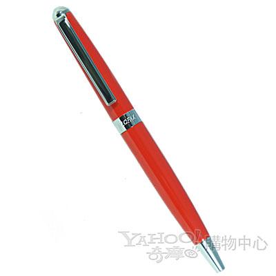 【filofax】 迷你經典原子筆  橘紅色
