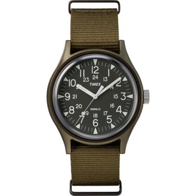 TIMEX 天美時 MK1系列 潮流軍錶-橄欖綠/40mm