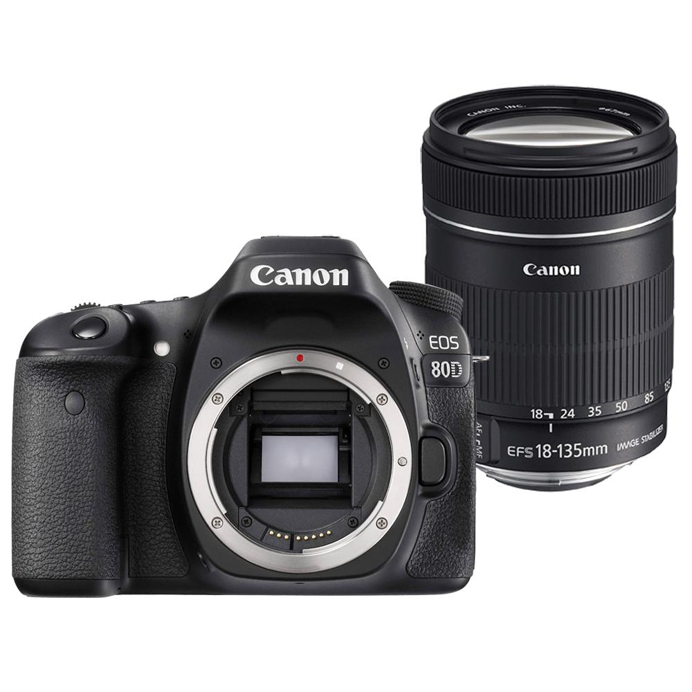 Canon 80D+18-135mm USM 單鏡組*(平輸中文)