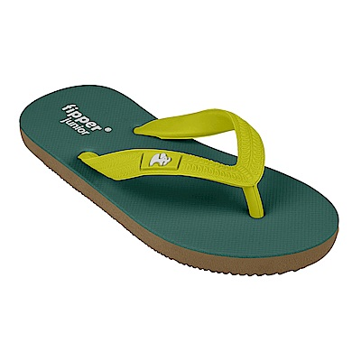Fipper JUNIOR 天然橡膠拖鞋 GREEN-GREEN