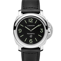 PANERAI 沛納海 PAM01000 Luminor Base 經典手上鍊錶-44mm