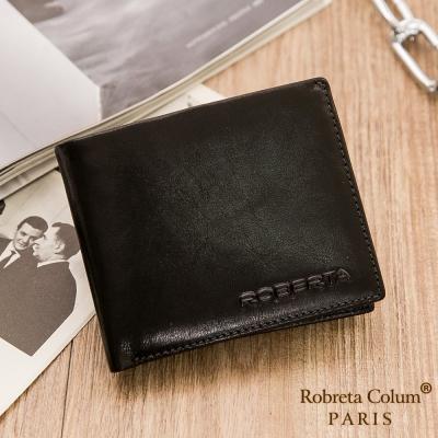Roberta Colum - 魅力無限牛皮款8卡<b>2</b>照短夾-共<b>2</b>色
