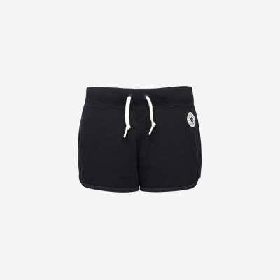 CONVERSE-女休閒短褲10003986A03-黑