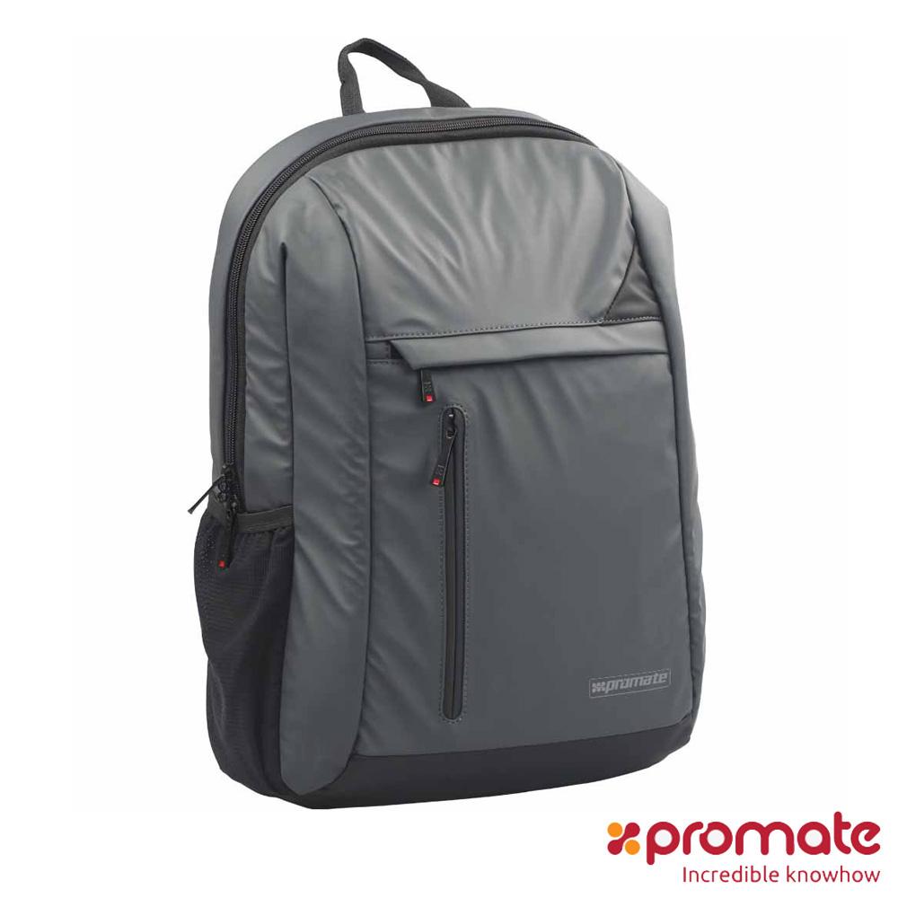 Promate Lucent-BP 防水時尚後背包 (灰)