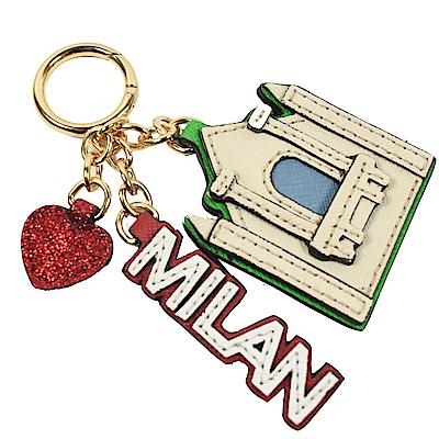 MICHAEL KORS CHARMS 立體城市特色鑰匙圈(米蘭)