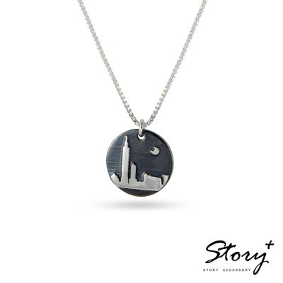 STORY故事銀飾-敬女人-華麗時光純銀項鍊