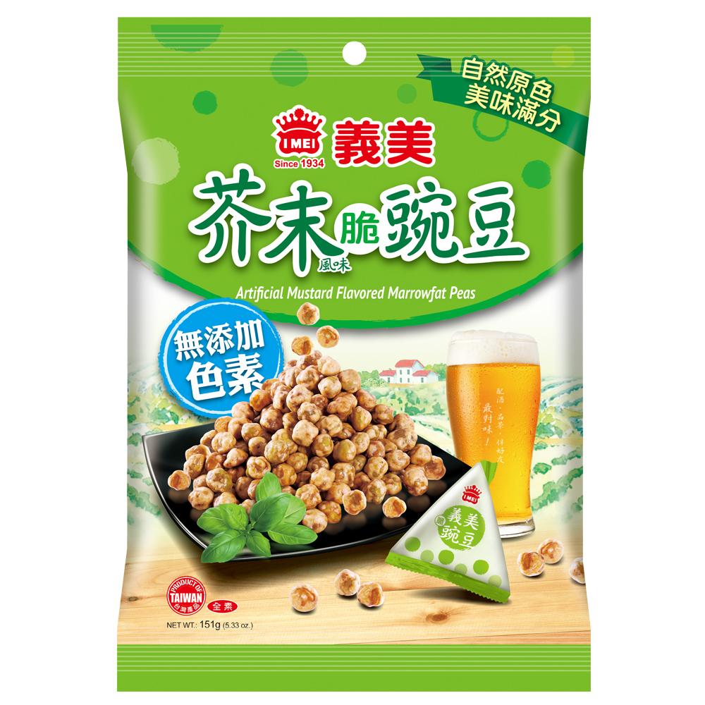 義美 芥末豌豆(151g)