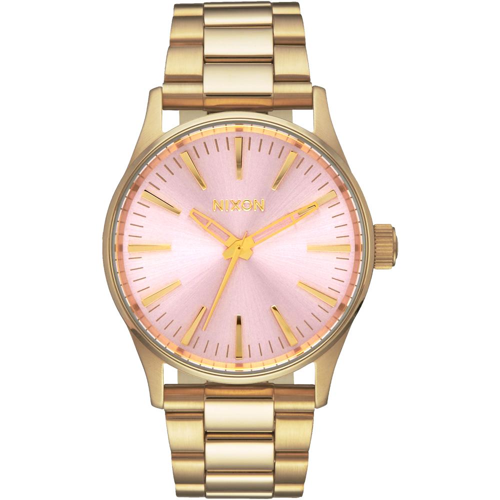 NIXON SENTRY 38 SS 極簡復刻化時尚腕錶-A4502360/38mm