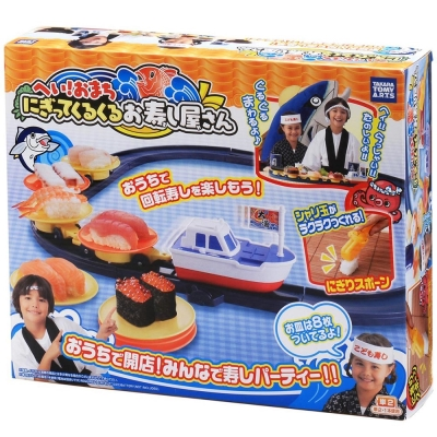 TAKARA-TOMY-大漁旋轉壽司組