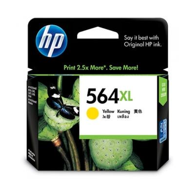 HP CB325WA NO.564 XL原廠黃色染料墨匣