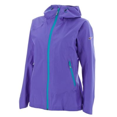 【Berghaus 貝豪斯】女款GT頂級3L防水ELECTRA外套H22F02-紫