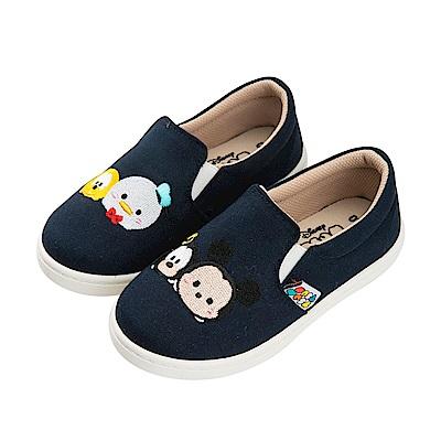 迪士尼童鞋 TsumTsum 米奇 休閒鞋 便鞋-深藍