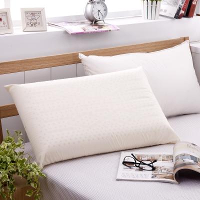 法國Jumendi-純淨宣言 大尺寸AA級蜂巢平面天然乳膠枕-2入