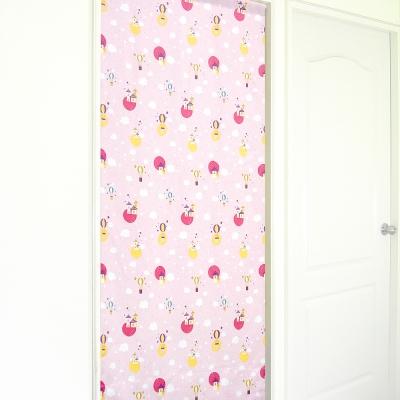 布安於室-熱氣球遮光風水簾-粉色