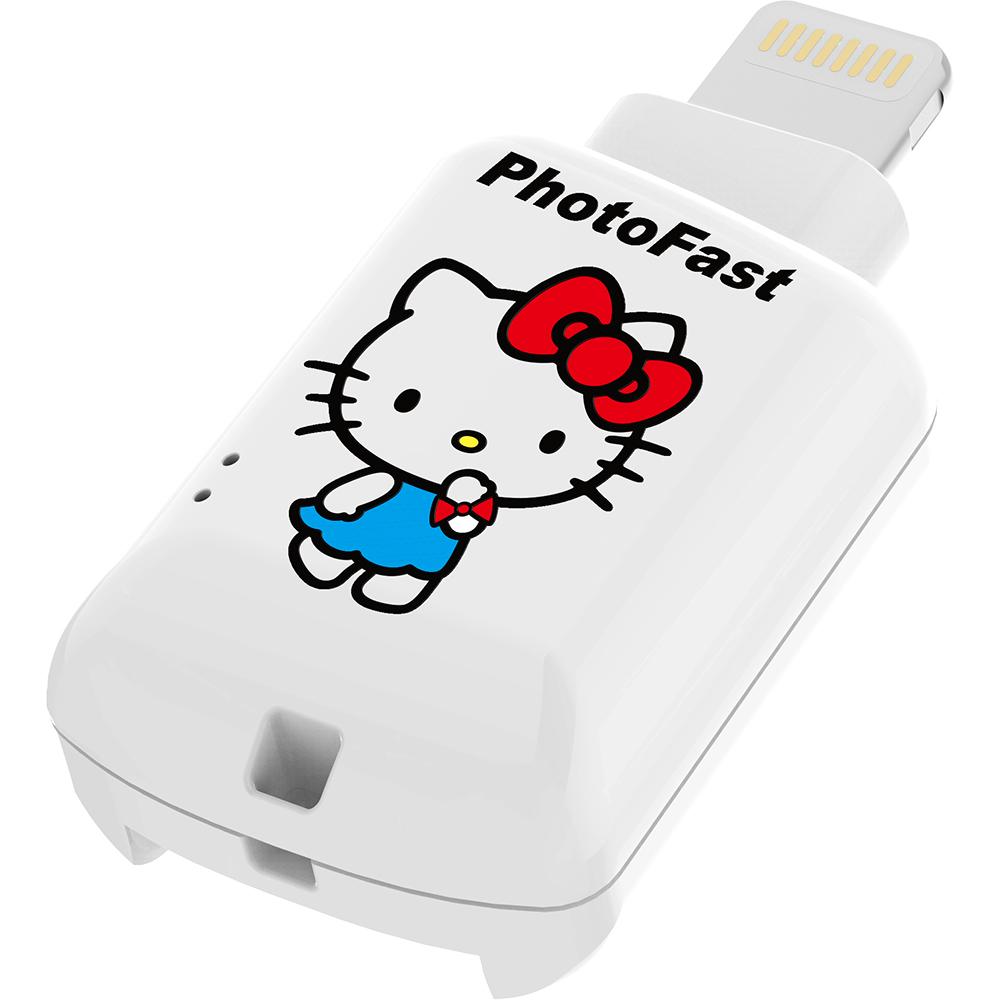 PhotoFast Hello Kitty 蘋果microSD讀卡機 CR-8800