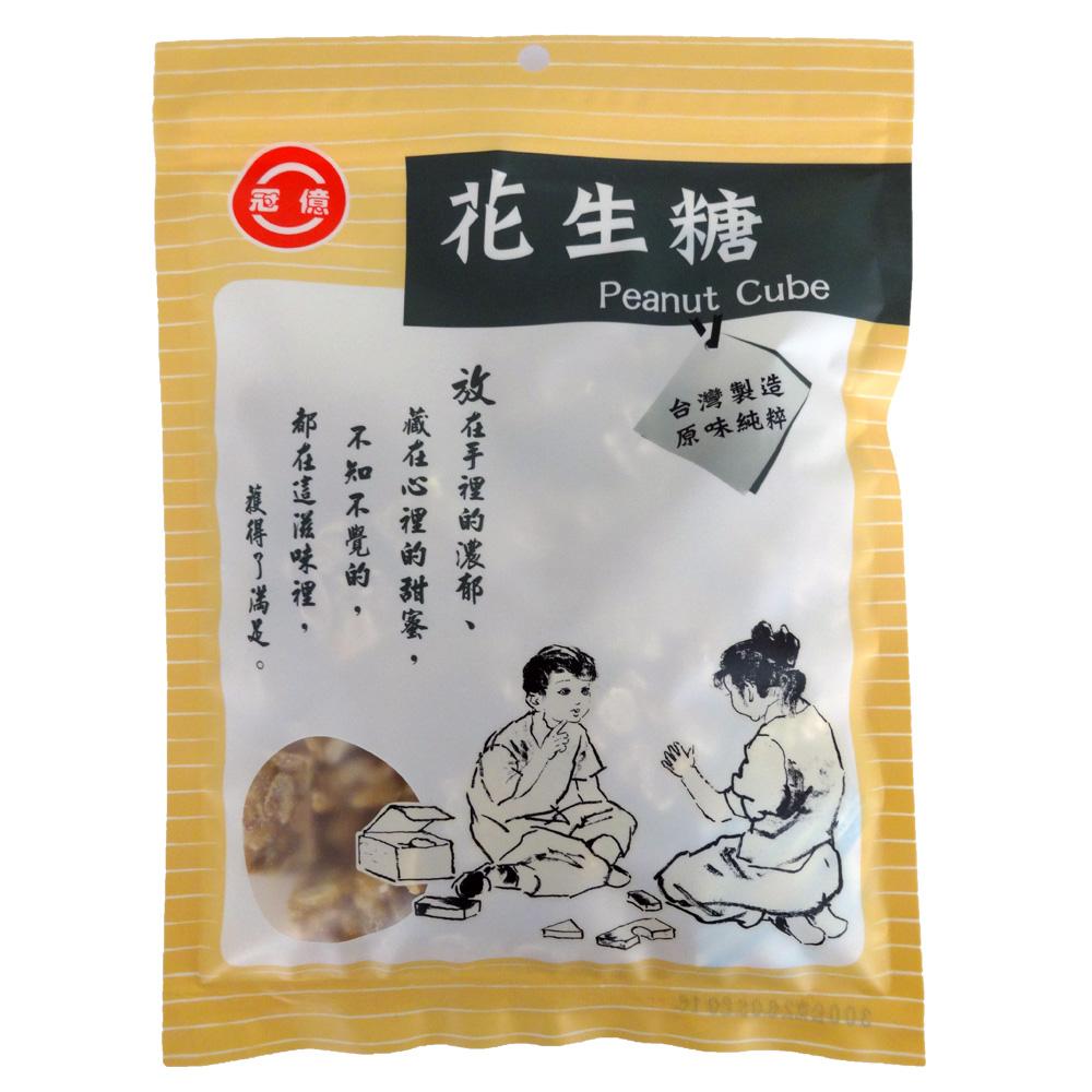 冠億台灣土豆王 花生糖(300g)