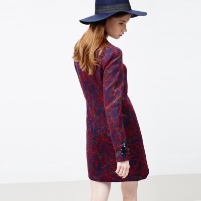 ICHE 衣哲 羊毛釘珠禮服造型洋裝