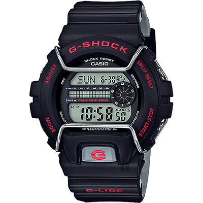 CASIO卡西歐G-SHOCK抗寒極限腕錶-黑53mm