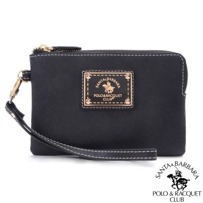 SANTA BARBARA POLO -幸福微糖手拿零錢包(黑色)
