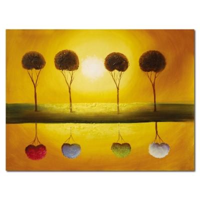 橙品油畫布 - 單聯典雅無框藝術掛畫 -  希望 40x60cm