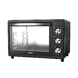 Whirlpool惠而浦 18公升不鏽鋼機械式烤箱 WTOM181B
