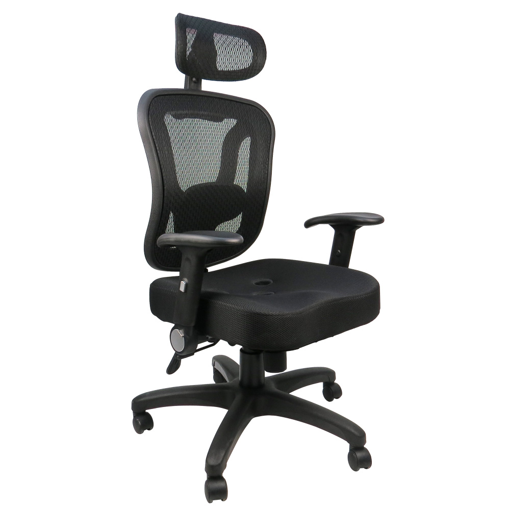 LOGIS邏爵 索羅斯工學專利三孔坐墊椅/辦公椅/電腦椅