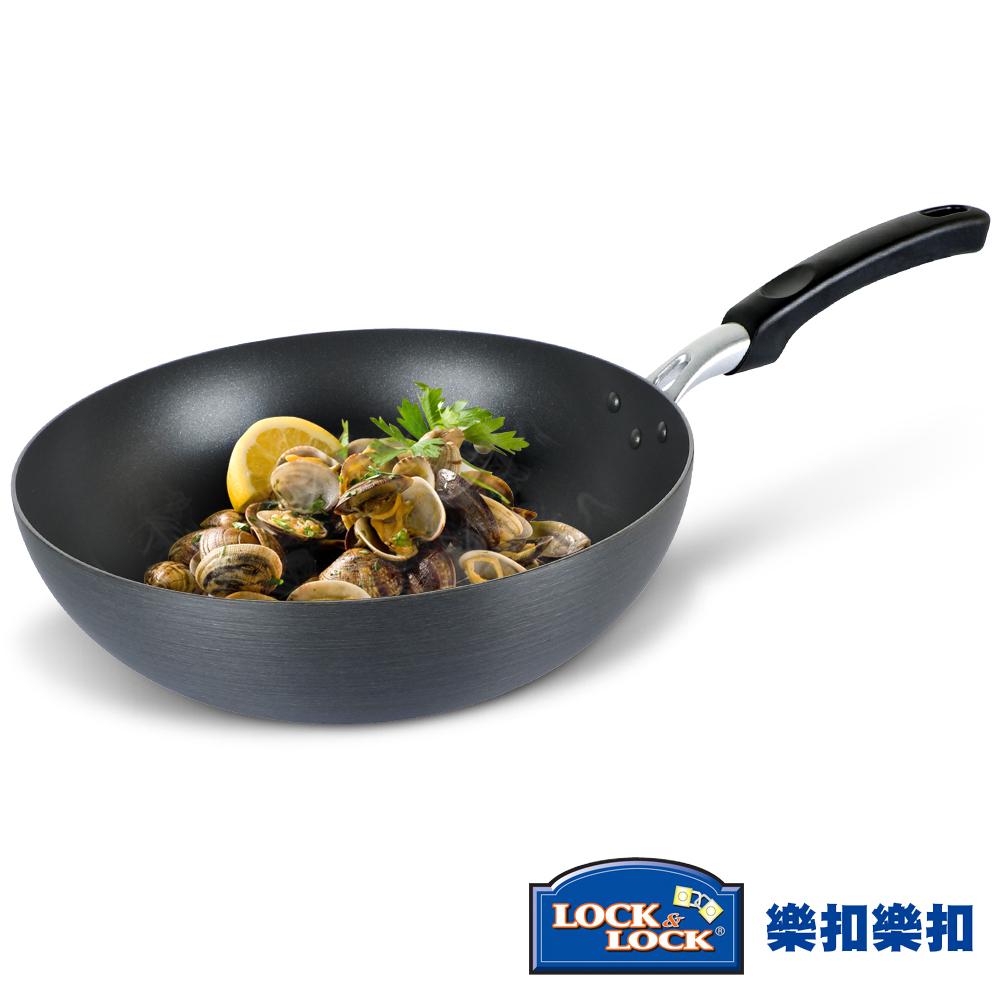 樂扣樂扣 HARD&LIGHT系列輕鬆煮不沾炒鍋-32CM