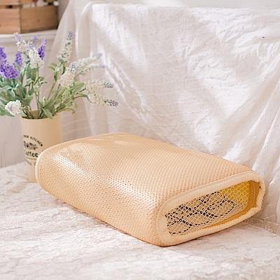 eyah宜雅 涼夏環保省電3D通風透氣彈簧枕 靈巧款 2入組
