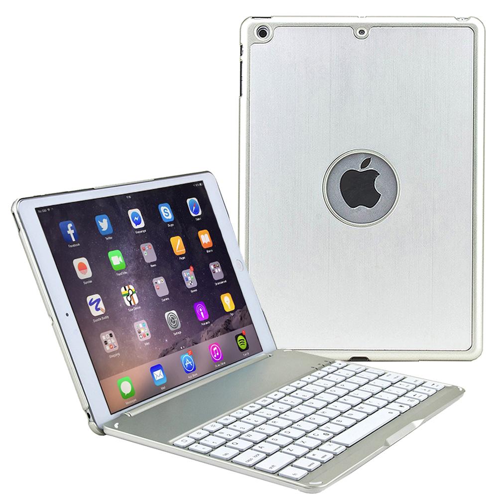 iPad Air 2 專用時尚型 超薄鋁合金藍牙鍵盤/筆電盒