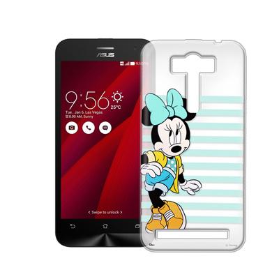 迪士尼 ASUS ZenFone 2 Laser 5.0吋 街頭透明軟式手機殼(俏米妮)