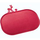 KOZIOL 斑比鹿早餐盤砧板(紅)