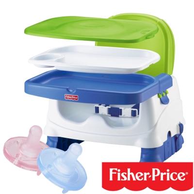費雪牌Fisher 寶寶小餐椅+飛利浦PHILIPS 5號奶嘴(顏色任選)