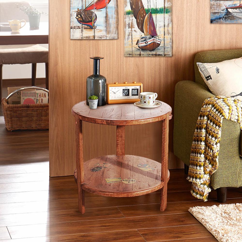 ALMI_DOCKER WORLD - SMALL ROUND TABLE 圓形茶桌