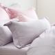 Cozy inn 簡單純色-丁香紫-200織精梳棉枕頭套-2入 product thumbnail 1