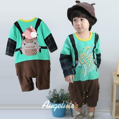 baby童衣-可愛造型紳士學院風連身衣37026