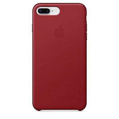 【Apple原廠公司貨】iPhone8Plus/7Plus皮革保護殼-RED