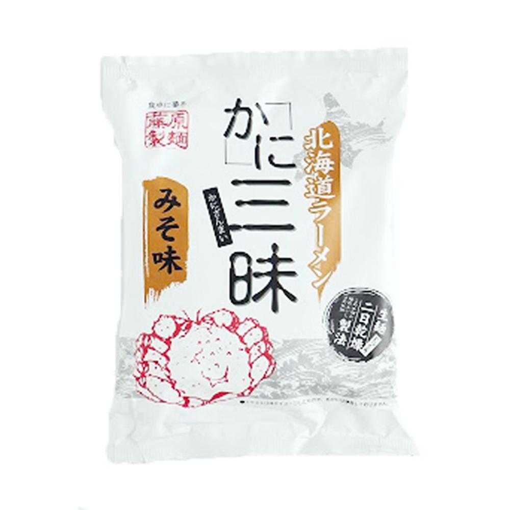 藤原製麵拉麵 蟹三味-味增(114g)